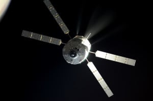 ATV-5 Approaching Station. Photo by: European Space Agency