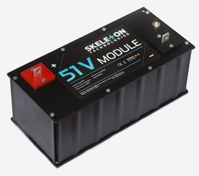 SkelMod 51V 177F ultracapacitor module