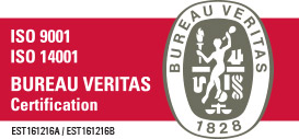 ISO 9001 ISO 14001 certified