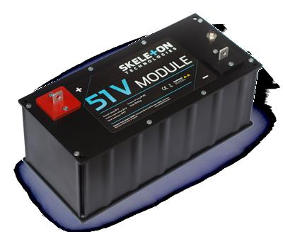 SkelMod 51V 177F ultracapacitor module