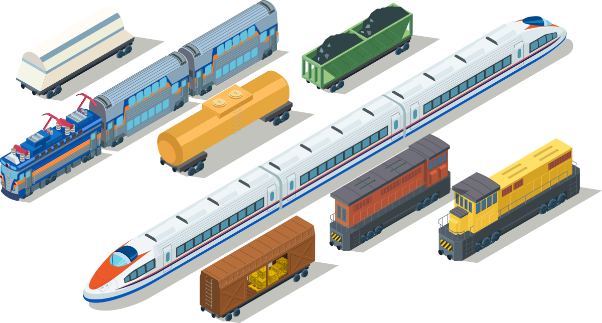 Train and rail industry