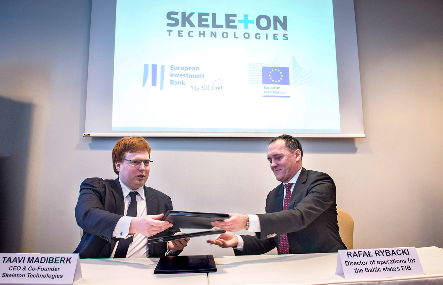 Skeleton Technologies Sign an Investment Loan Agreement for 15 Million Euros with the EIB